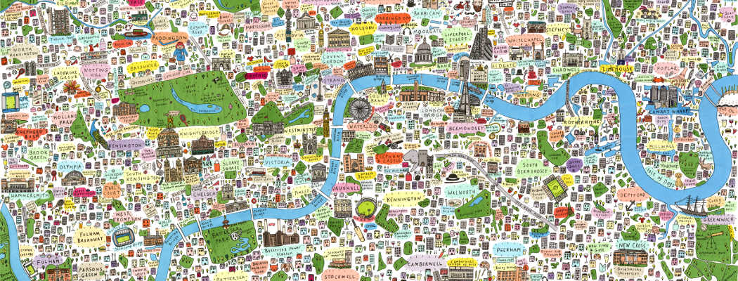 The Making of the Illustrated Map of London