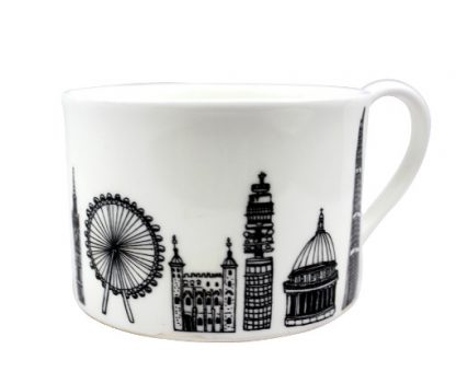Central London teacup by House of Cally