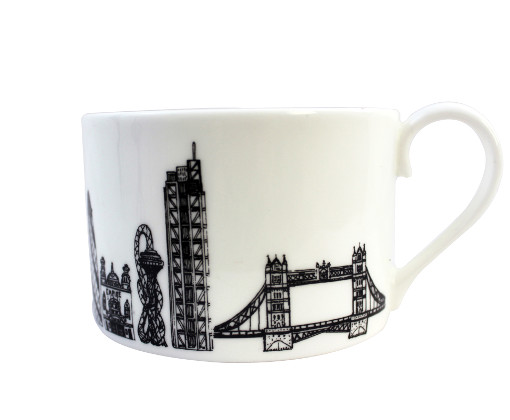 East London teacup by House of Cally