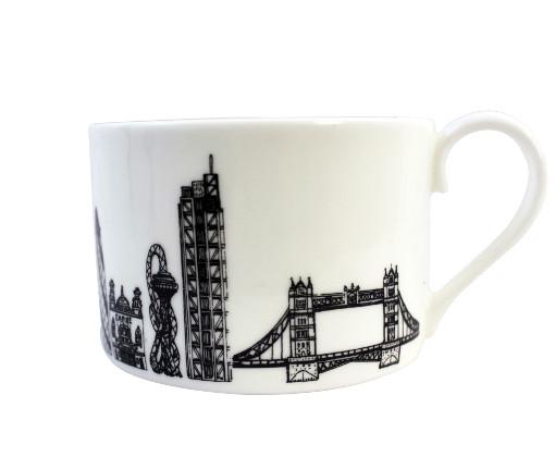 East London teacup by House of Cally