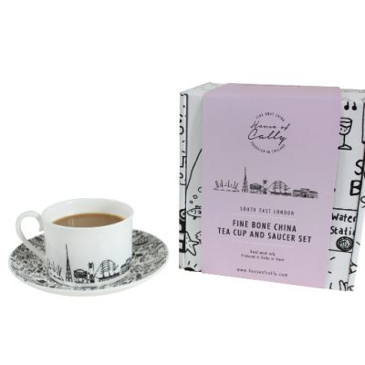 South-East London teacup and saucer set