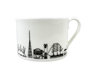 South-East London Teacup by House of Cally
