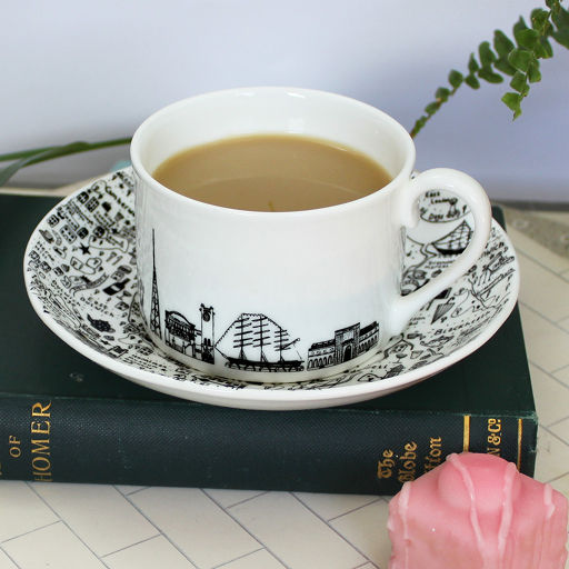 South-East London teacup and saucer set