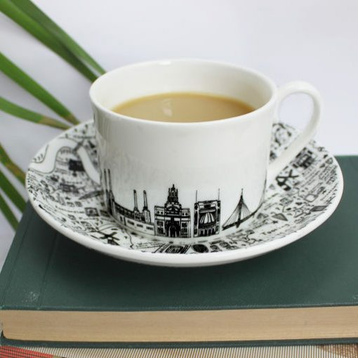 South-West London teacup and saucer set