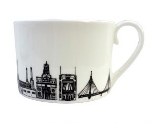 South-West London Teacup by House of Cally