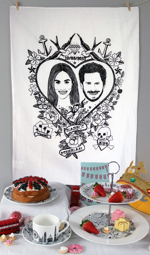 Royal Wedding Tea Towel by House of Cally