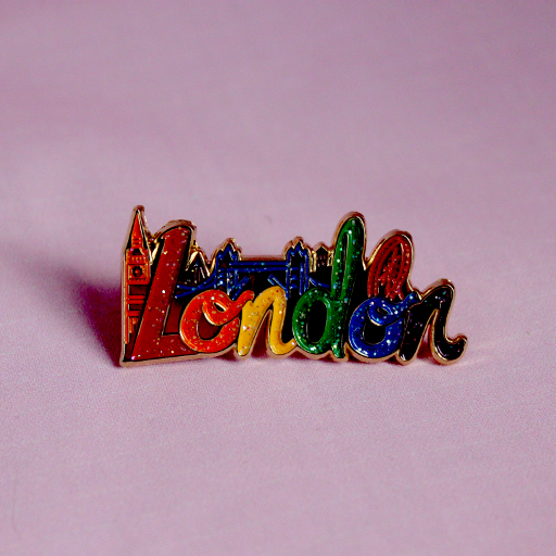Rainbow London Badge from House of Cally