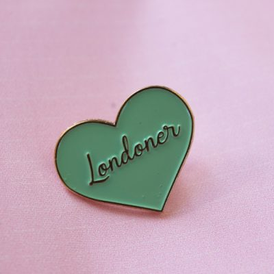 Londoner Pin Badge by House of Cally