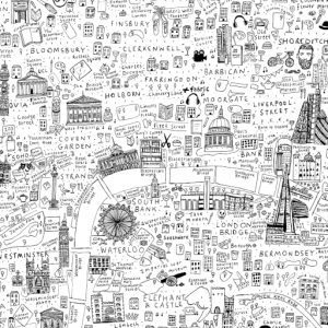 Colouring Map of London by House of Cally