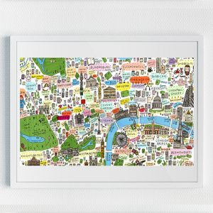 Illustrated Map of Central London (2nd edition)