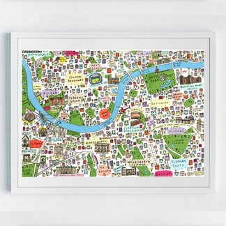 Map of South-West London (2nd edition)