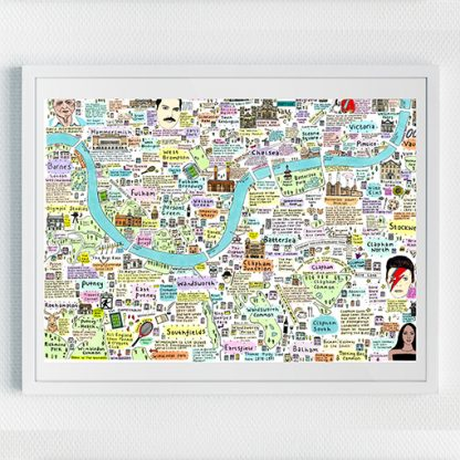 Map of South West London History and Culture