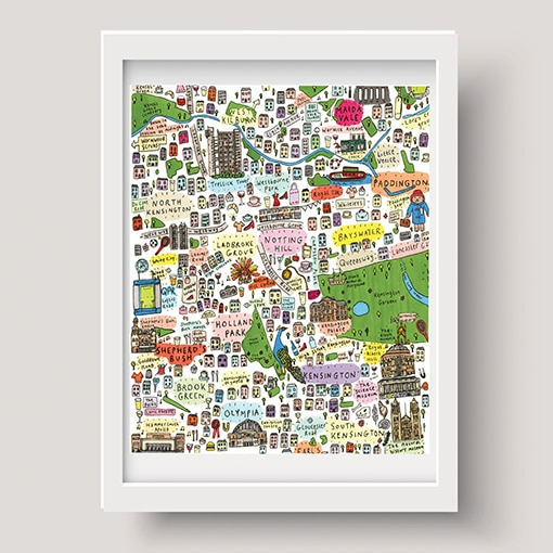 Map of West London (2nd edition)