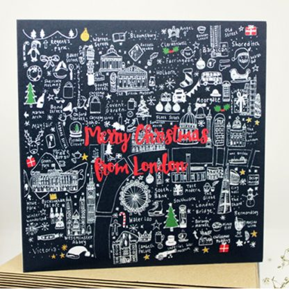 Merry Christmas from London Christmas Cards