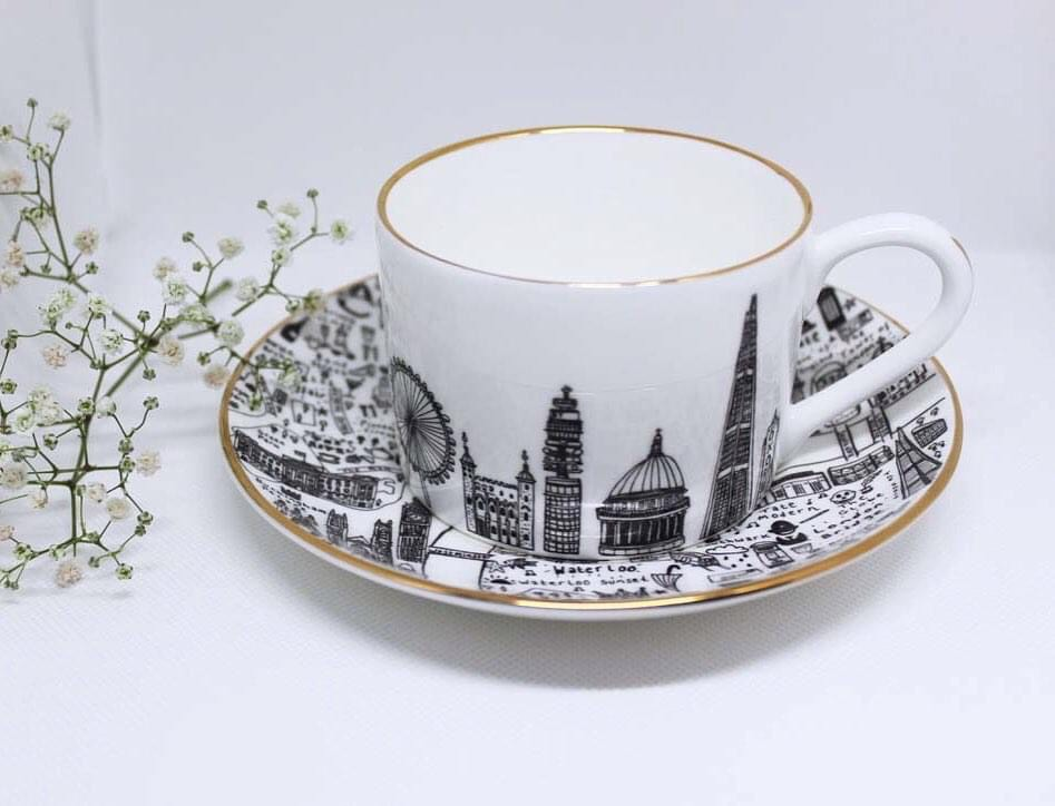 Special Edition Central London Tea-Sets by House of Cally