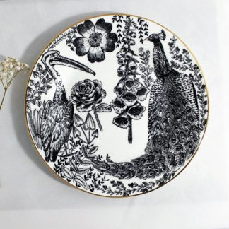 Flora and Fauna Side Plate by House of Cally