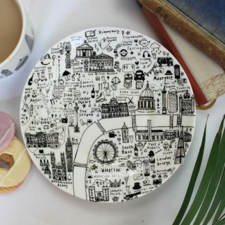 Central London Side Plate by House of Cally