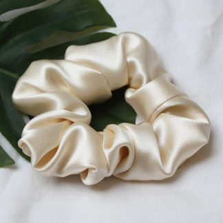Silk Hair Scrunchies from House of Cally